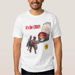 Camiseta estupenda del tren de Santa Fe principal Playeras