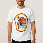 Camiseta estupenda del tren de Santa Fe principal Polera