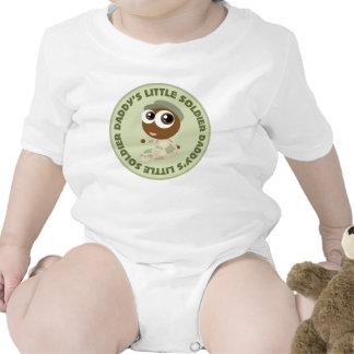 Camiseta étnica del bebé del pequeño soldado del p