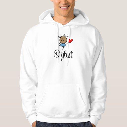 Camiseta étnica del estilista sudadera con capucha