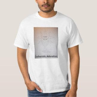 Camiseta eucarística de la adoración polera