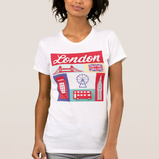camiseta europea de la ciudad de Londres Inglaterr