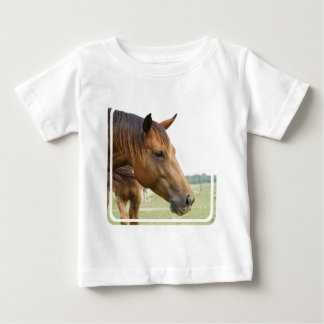Camiseta excelente curiosa del bebé playera