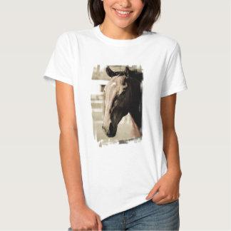 Camiseta excelente de las señoras del vintage remera
