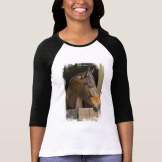 Camiseta excelente del béisbol de los caballos playeras