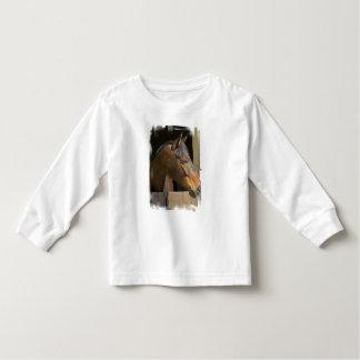 Camiseta excelente del niño de los caballos playeras