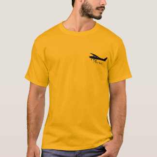 Camiseta experimental del aeroplano