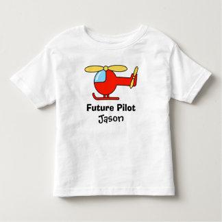 Camiseta experimental futura para los niños con el