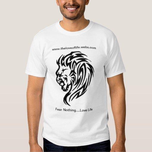 Camiseta expresa de la vida poleras