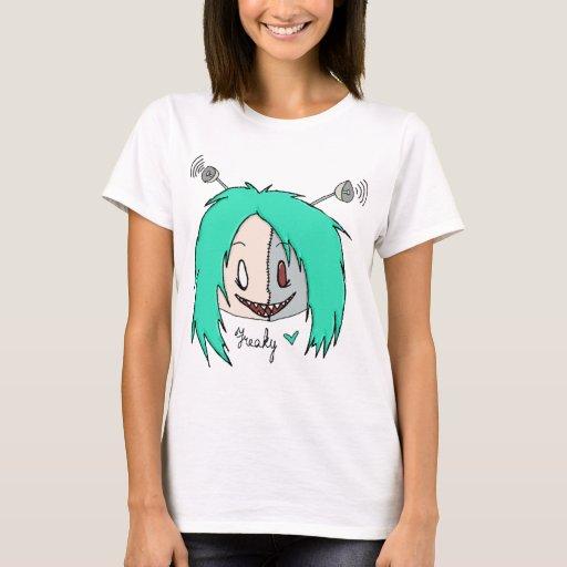 Camiseta extraña