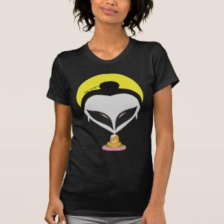 Camiseta extranjera de Buda - mujeres Poleras