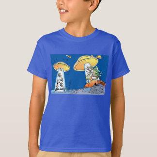 Camiseta extranjera de la abducción del pantano playera