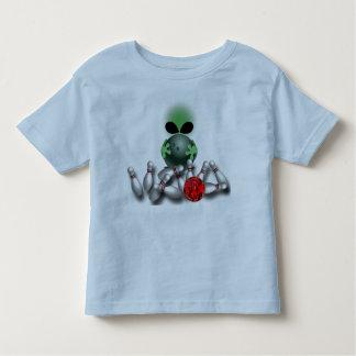 Camiseta extranjera de los bolos playeras