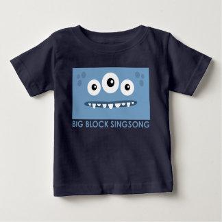 Camiseta extranjera del bebé de los amigos del