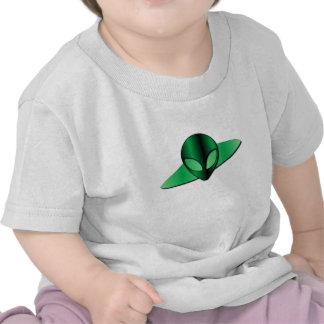 Camiseta extranjera del bebé del UFO