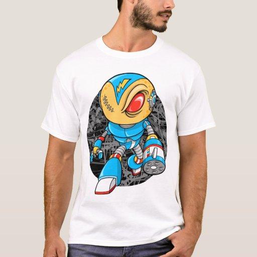 Camiseta extranjera del guerrero del Cyborg