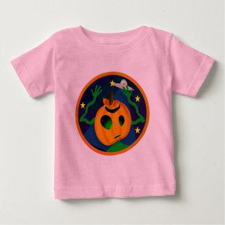 Camiseta extranjera del niño de la Jack-O-Linterna Playera Para Bebé