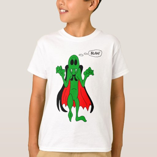 Camiseta extranjera del vampiro remera