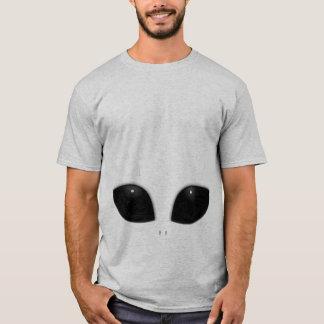 Camiseta extranjera gris corta, adulto