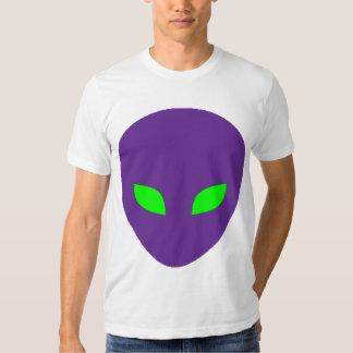 Camiseta extranjera púrpura poleras