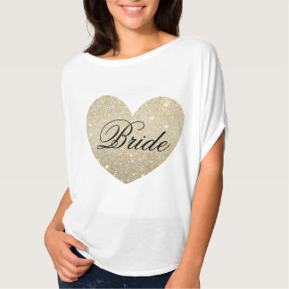 Camiseta fabulosa de la novia del corazón remera