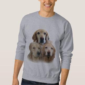 Camiseta fabulosa de las caras de los perros suéter
