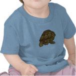 Camiseta fabulosa del bebé de la tortuga