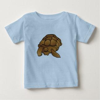 Camiseta fabulosa del bebé de la tortuga playeras