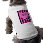 Camiseta fabulosa del perro camisas de mascota