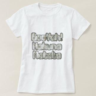 Camiseta famosa del diseñador de BooYah Hakuna