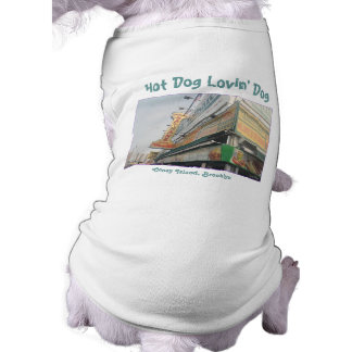Camiseta famosa del mascota de los perritos calien playera sin mangas para perro