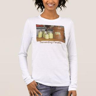Camiseta fanática de la fermentación