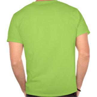 Camiseta fangosa de la impresión de la pata