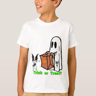 Camiseta fantasmagórica de los niños de Halloween Remera