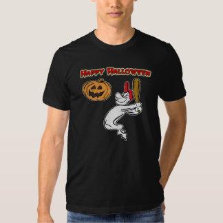 Camiseta fantasmal de la oscuridad del talud playeras