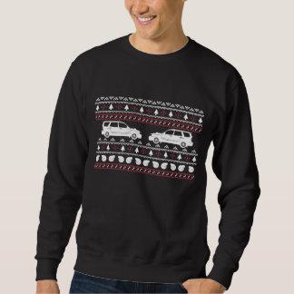 Camiseta fea de Turbo SUV del navidad