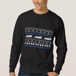 Camiseta fea del coche de Turbo del navidad