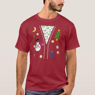 Camiseta fea del suéter del día de fiesta