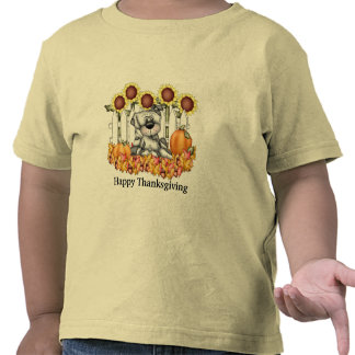 Camiseta feliz de la acción de gracias