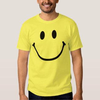 Camiseta feliz de la cara playeras