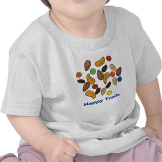 Camiseta feliz de la mezcla del rastro de los