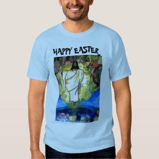 Camiseta FELIZ de las DEVOLUCIONES de PASCUA JESÚS Polera