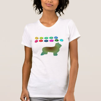 Camiseta feliz de Pascua Briard
