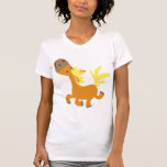 Camiseta feliz de Pony Mujer del dibujo animado
