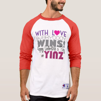 Camiseta feliz del béisbol de Yinz del el día de