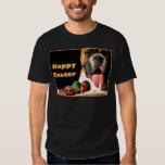 Camiseta feliz del boxeador de Pascua Playera