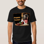 Camiseta feliz del boxeador de Pascua Remera