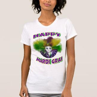 Camiseta feliz del carnaval