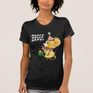 Camiseta feliz del día de fiesta de los días del