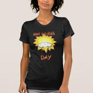 Camiseta feliz del día de la marmota camisas